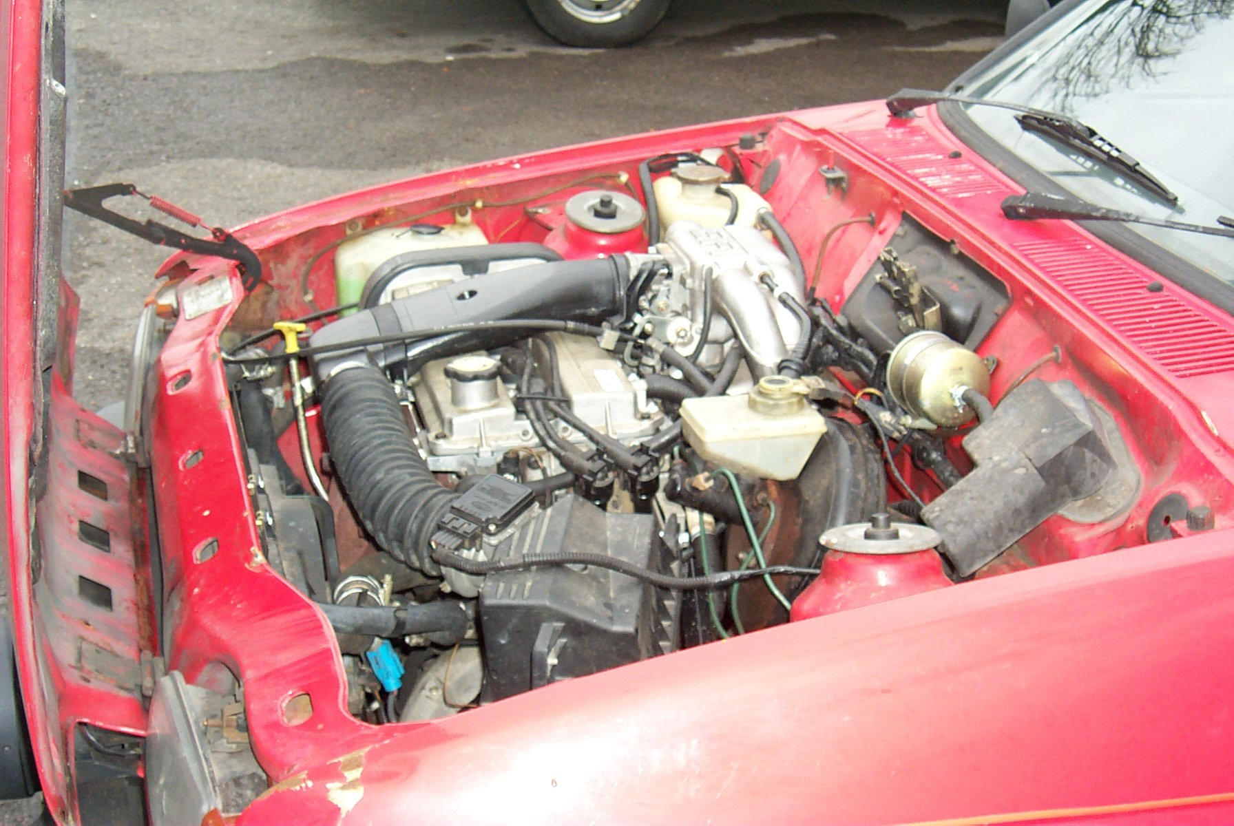 Fitting A Zetec Engine In Mk2 Fiesta Ford Mark 5 Fuse Box